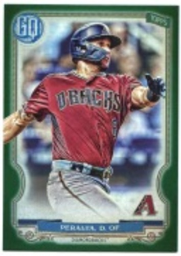 Photo of 2020 Topps Gypsy Queen Green #81 David Peralta
