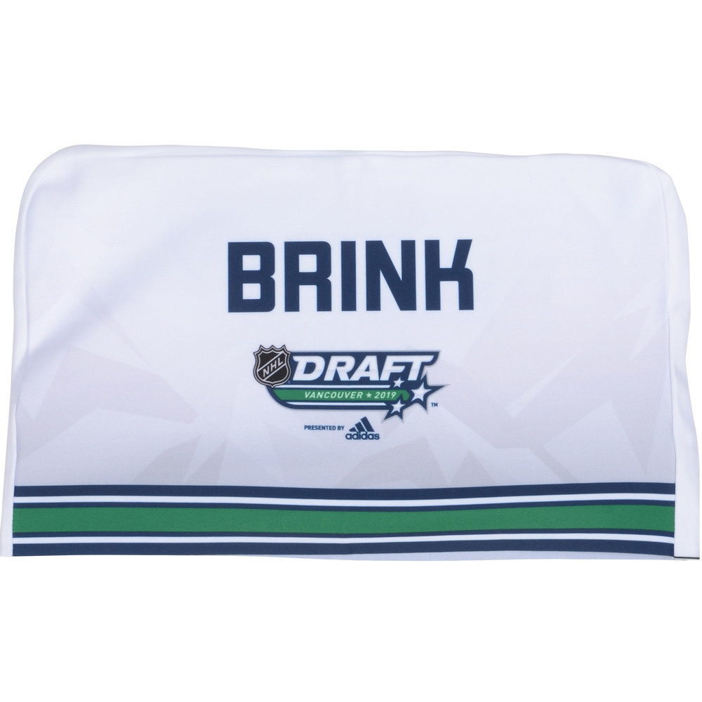 Bobby Brink Philadelphia Flyers 2019 NHL Draft Seat Cover - Second set (Not Used)