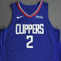 Kawhi Leonard - Los Angeles Clippers - Kia NBA Tip-Off 2020 - Game-Worn Icon Edition Jersey