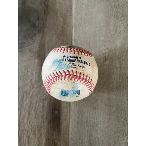Photo of 8/16/20 Game-Used Baseball, Padres vs. D-backs: Junior Guerra vs. Tommy Pham (Single)