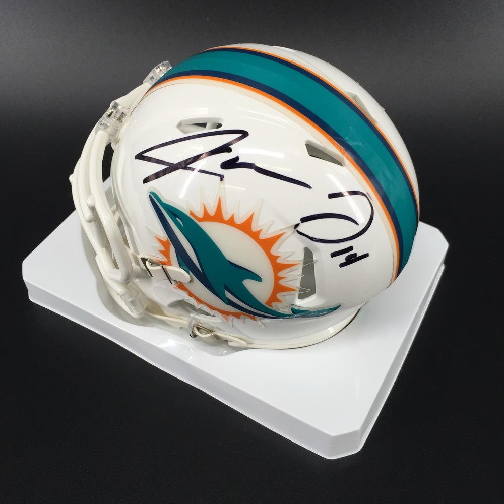 Dolphins - Jarvis Landry Signed Mini Helmet