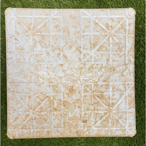 Photo of Game-Used 1st Base from 2021 Opening Day - 4/6/2021 vs. ATL - Used Innings 7-9