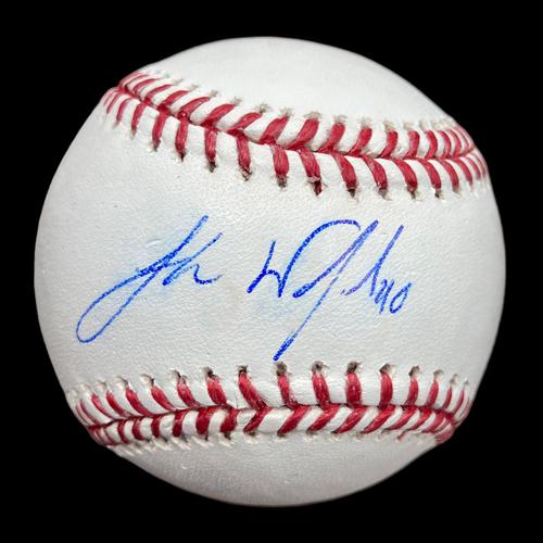 Photo of Jake Woodford Autographed Baseball