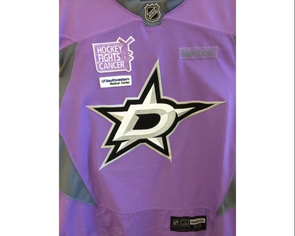 size 40 7f6c4 ad401 Dallas Stars, Jason Demers, autographed warm-up Hockey ...