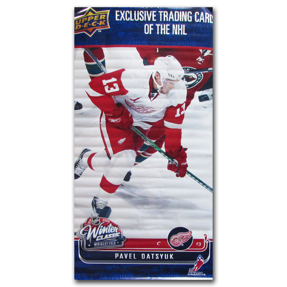 Pavel Datsyuk Detroit Red Wings Banner - on Display at 2009 NHL Winter  Classic c1585378e