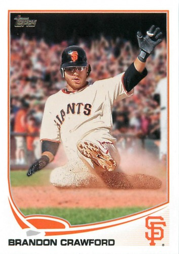 Photo of 2013 Topps #73 Brandon Crawford