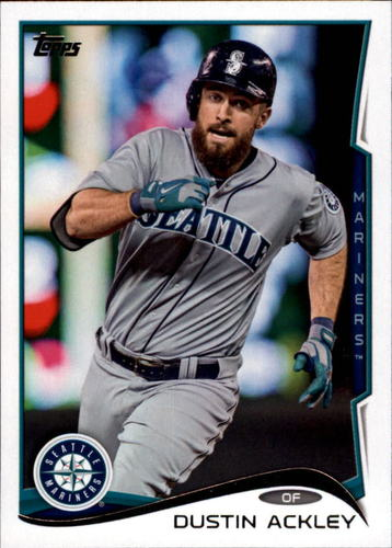 Photo of 2014 Topps Update #US328A Dustin Ackley
