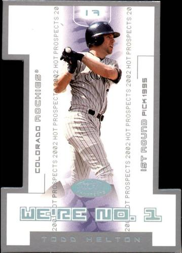 Photo of 2002 Hot Prospects We're Number One #TH Todd Helton