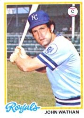Photo of 1978 Topps #343 John Wathan DP