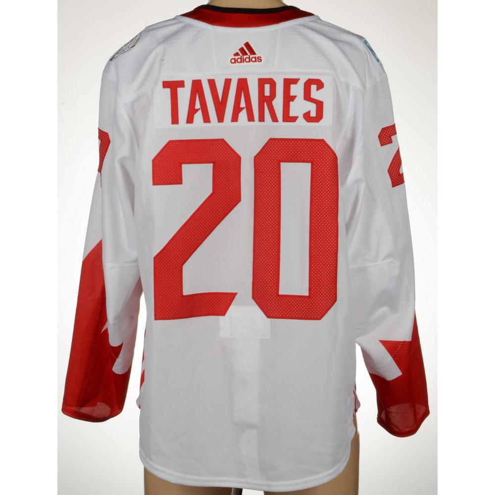 the best attitude 94692 08552 John Tavares New York Islanders Game-Worn World Cup of ...