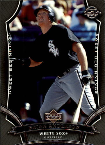 Photo of 2005 Sweet Spot #108 Brian Anderson SB RC