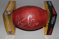 LIONS - STEPHEN TULLOCH SIGNED AUTHENTIC FOOTBALL
