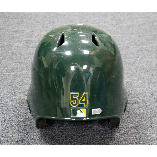 Photo of Sonny Gray Team-Issued Double Ear Flap Helmet