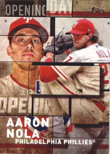 Photo of 2018 Topps Opening Day Insert #OD23 Aaron Nola