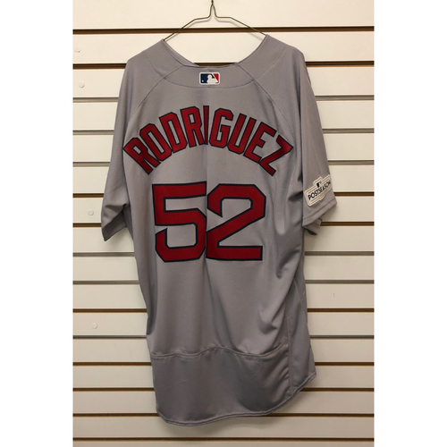 Photo of Eduardo Rodriguez Team-Issued 2017 Road Jersey
