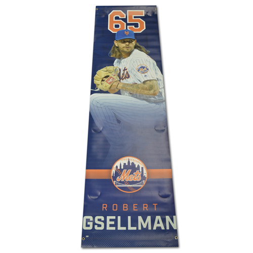 Photo of Robert Gsellman - Citi Field Banner - 2017 Season