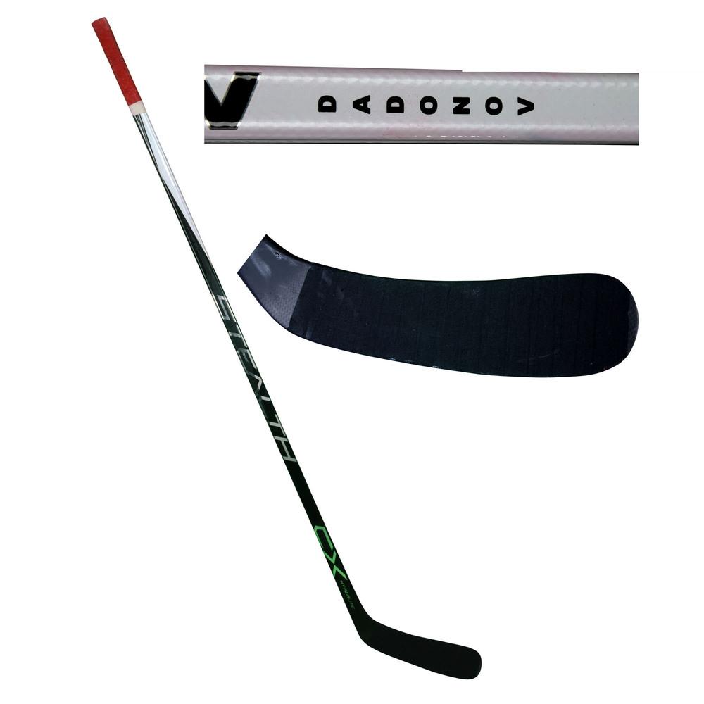 Evgenii Dadonov Florida Panthers Game-Used Easton Stick from the 2017-18 NHL Season