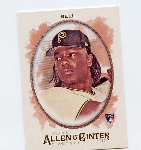 Photo of 2017 Topps Allen and Ginter #186 Josh Bell Rookie Card