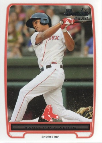 Photo of 2012 Bowman Prospects #BP105 Xander Bogaerts Pre-Rookie Card