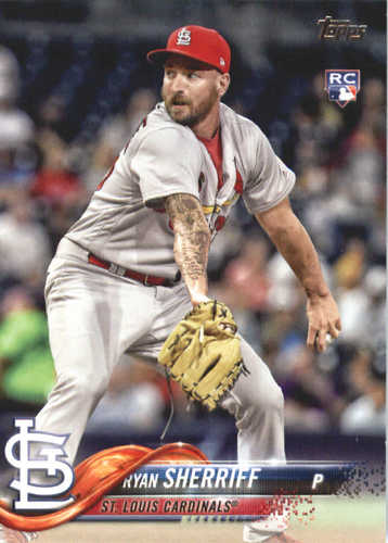 Photo of 2018 Topps #698 Ryan Sherriff RC