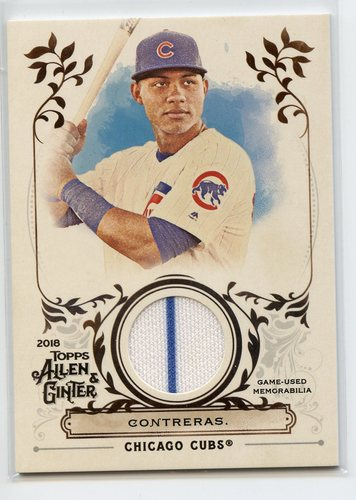 Photo of 2018 Topps Allen and Ginter Relics #FSRAWC Willson Contreras A