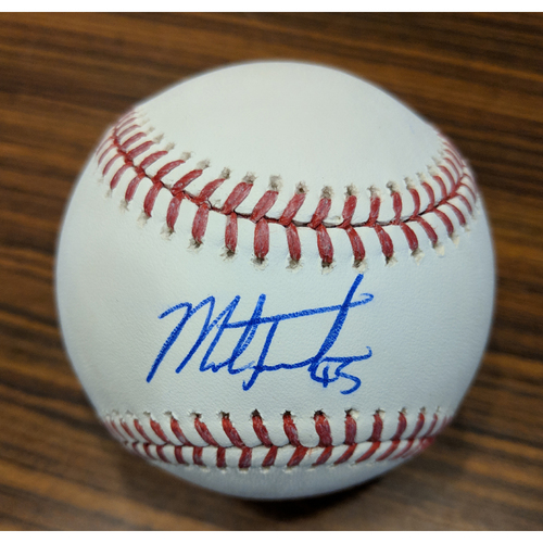 Photo of Mark Trumbo - Autographed Baseball