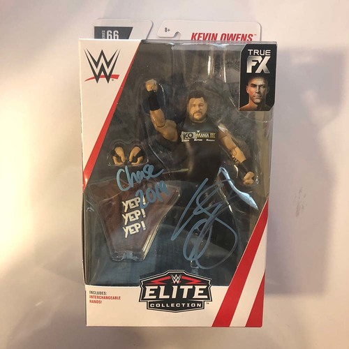 Photo of Kevin Owens SIGNED Elite Series 66 Figure (Chase Variant)