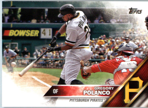 Photo of 2016 Topps #428 Gregory Polanco