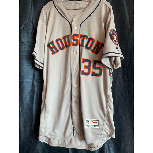 Photo of 2018 Team Issued Justin Verlander Road Jersey (Size 48)