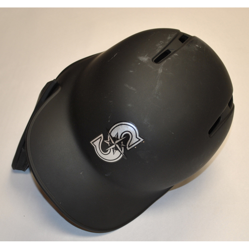Photo of Shed Long Seattle Mariners Team-Issued 2019 Players' Weekend Helmet