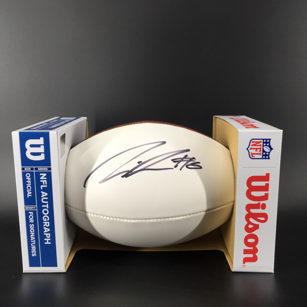 NFL - Texans Lonnie Johnson Jr Signed Panel Ball