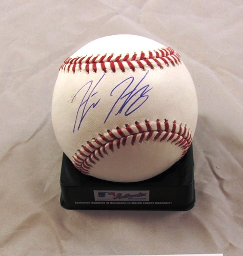 Photo of Hunter Harvey Autographed Official Major League Baseball