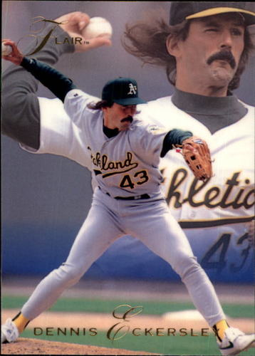 Photo of 1993 Flair #257 Dennis Eckersley