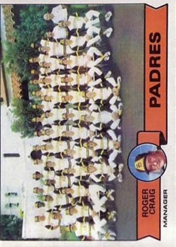 Photo of 1979 Topps #479 San Diego Padres CL/Roger Craig MG