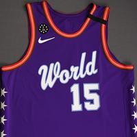 Brandon Clarke - 2020 NBA Rising Stars - Team World - Game-Worn 1st Half Jersey