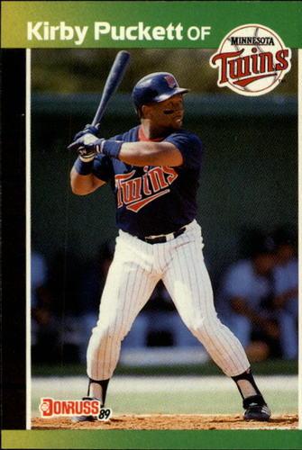 Photo of 1989 Donruss #182 Kirby Puckett