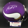NFL - Vikings Adam Thielen Signed Proline Helmet