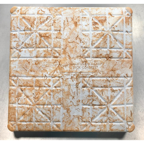Game Used First Base: Jazz Chisolm First Career MLB Hit - Single - Innings 7-10 - September 6, 2020 v MIA