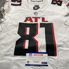 Crucial Catch - Falcons Hayden Hurst Game Used Jersey (10/18/20) Size 44