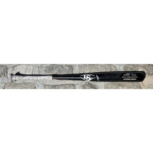 Photo of Ryan Mountcastle: Broken Bat - Game Used (6/17/21 @ Indians)