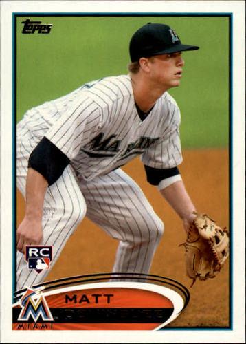 Photo of 2012 Topps #198 Matt Dominguez RC