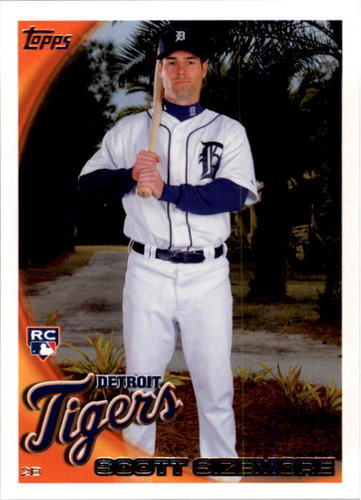Photo of 2010 Topps #513 Scott Sizemore RC