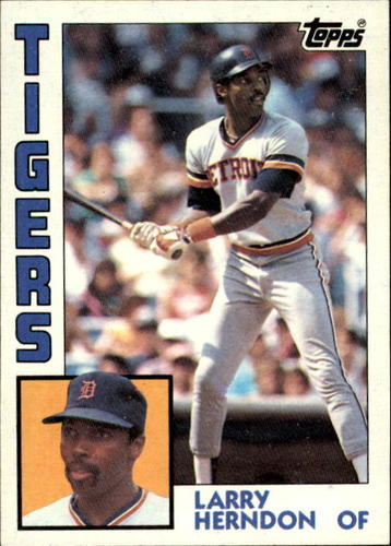 Photo of 1984 Topps #333 Larry Herndon