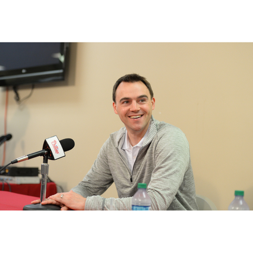Photo of Dinner Party for Six with Phillies General Manager, Matt Klentak in the Executive Dining Room at Citizens Bank Park