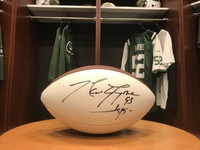 New York Jets - #93 Marty Lyons Autographed Football