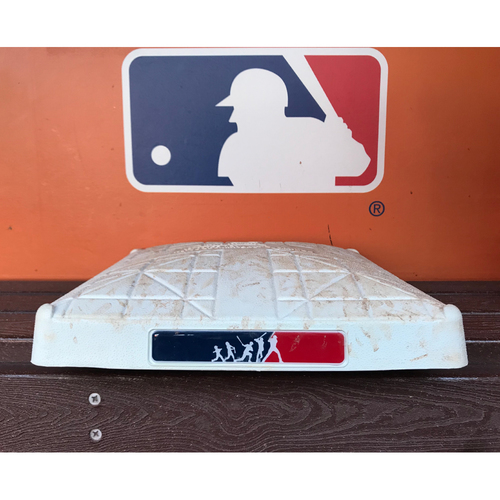 Photo of Game-Used Base: Marlins vs Padres 8/26/17 (Player's Weekend - 1st Base, 1st-3rd inn.)