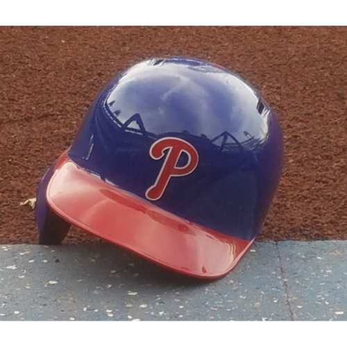 Photo of 2017 Game-Used J.P. Crawford Alternate Helmet