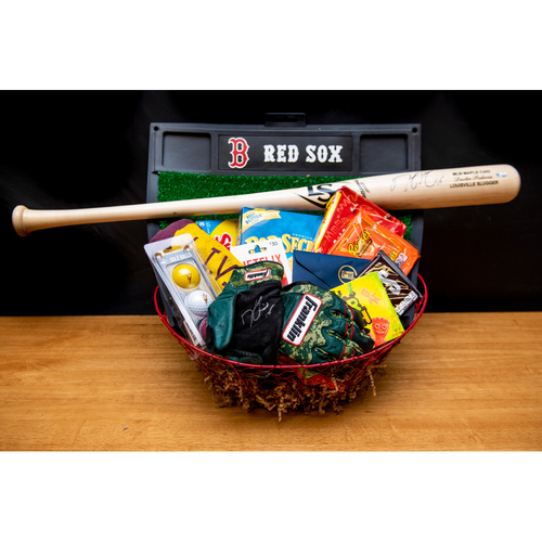 Dustin Pedroia Favorite Things Basket