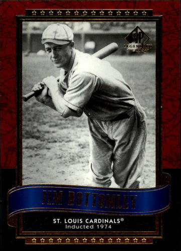 Photo of 2003 SP Legendary Cuts #57 Jim Bottomley Hall of Fame Class of 1974