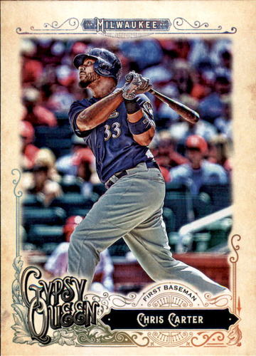 Photo of 2017 Topps Gypsy Queen #45 Chris Carter